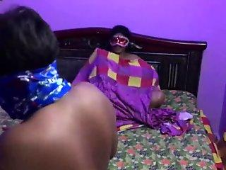 Indian bhabhi super-smashing-hot fuck and Foreplay sex with young desi dude
