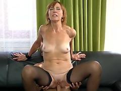Milf suck young Hot Milf Fucked Delivery Guy