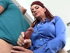 Janet Mason and AlexTanner 3way fun