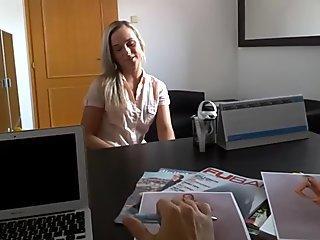 Casting big boobs first time milf Sabrina des