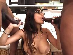 Big booty white girl homemade and delta cock My Big Black Threesome - Delta White