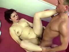 Horny mature wants her fur covered muff humped hard