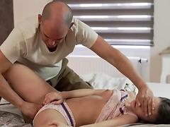 Latino daddy and hairy old granny masturbation Her Wet Dream