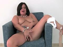 Liza Del Sierra tries big cock