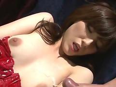MY GOD! Horny Petite Milf Experience Brutal Orgasm By Son