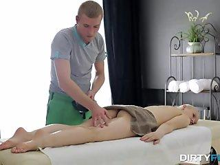 Dirty Flix - Oil massage with deep orgasm