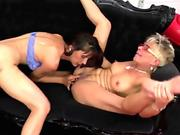 Quirky Asian girl Carla gets furry kitty penetrated in hotel room