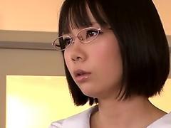 Squirting Asian schoolgirl loses her panties