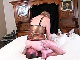 grandmother ass-smothering