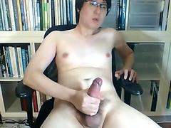 Asian boy'_s best huge cumshot compilation
