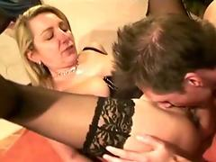 Two German MILF change Husband on privat Swinger Party