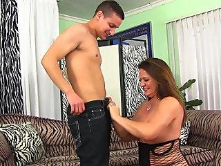 Catgirl gets some milk in her pussy