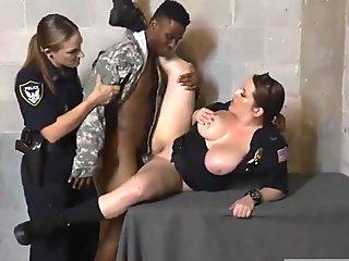 Fake Soldier Gets Used as a Fuck Toy