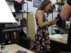 German amateur girl and mature movieked up College Student Banged in my pawn shop!
