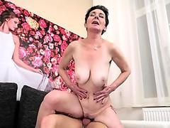 Pregnant Milf Sucks Black Cock