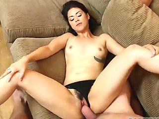 russian girl blowjob a banana