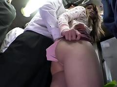 Hot Asian Teen Gets Fucked In The Bus