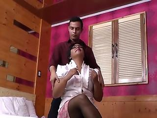 Cassandra gang banged in front of her boyfriend
