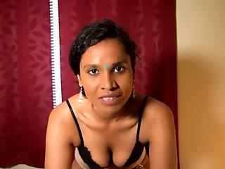 Hindi schoolteacher vocally manhandles for getting her fired & makes you her slave