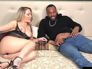 Slammed Slut Carmen Valentina Gets Tight Pussy Fucked By Big Fat Cock!