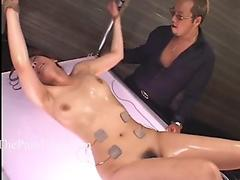 Japanese electro sadism & masochism and extraordinary asian restrain bondage of punished oriental slaves