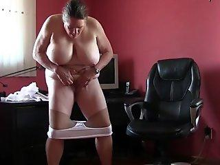 This happens when grandma'_s knickers and pantyhose come down