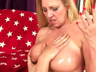 Busty Granny Cala Craves Gets Pummeled