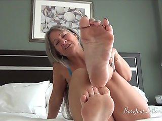 She Handles Two Footlongs