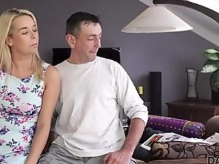Teen Isabel's hot sex ends in a creampie