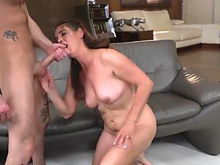 Sweet ass shy Thai babe getting fucked by her man