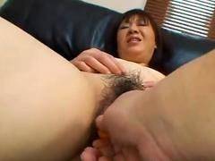 Junko Takeyama: Fat Ass Nippon Mom Banged By A Stranger