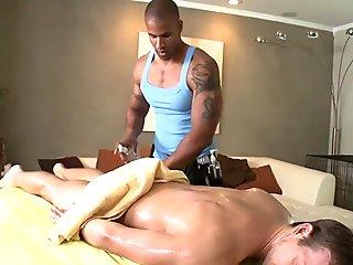 Homosexual massage str8