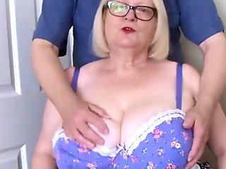 sally gets tits rubbed